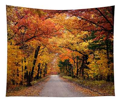 October Road Tapestry