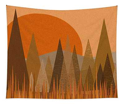 October Sunset Tapestry