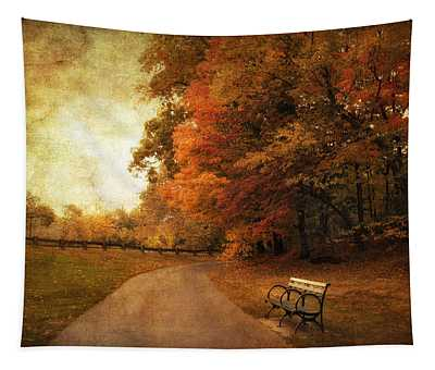 October Tones Tapestry