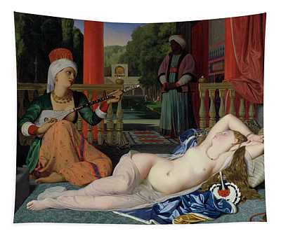 Odalisque With Slave Tapestry