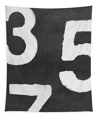Odd Numbers Tapestry