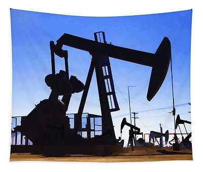 Oil Fields Tapestry