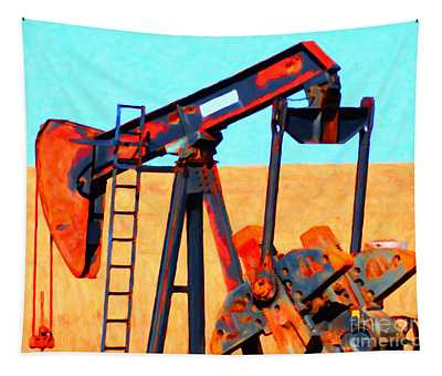 Oil Pump - Painterly Tapestry