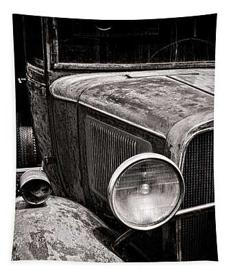 Ol' Trucky Tapestry