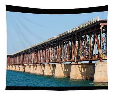 Old Bahia Honda Bridge 2 Tapestry