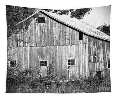 Old Barn  Tapestry