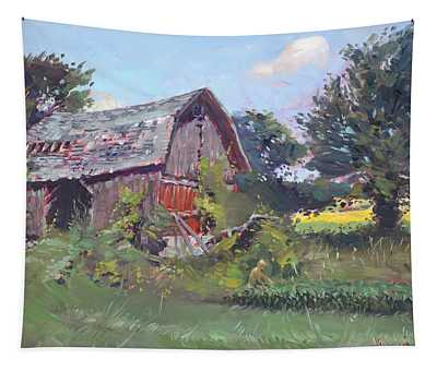Old Barns  Tapestry