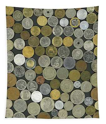 Old Coins Tapestry