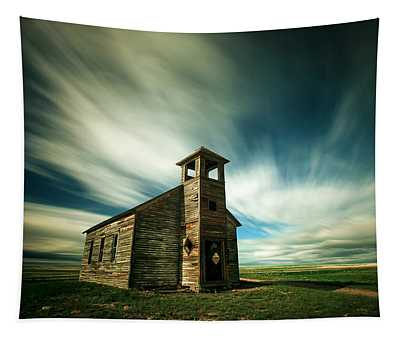 Old Cottonwood Church Tapestry