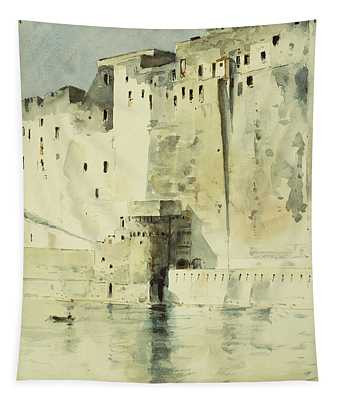 Old Fortress Naples Tapestry