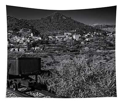 Old Mining Town No.23 Tapestry