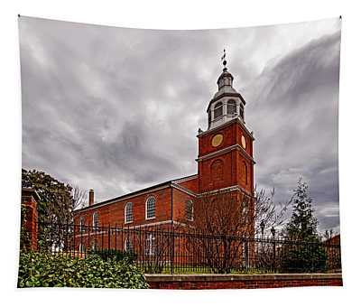 Old Otterbein Country Church Tapestry