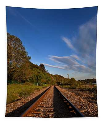 Old Railway Tracks, County Waterford Tapestry