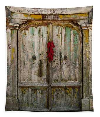 Old Ristra Door Tapestry