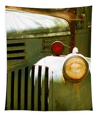 Old Truck Abstract Tapestry