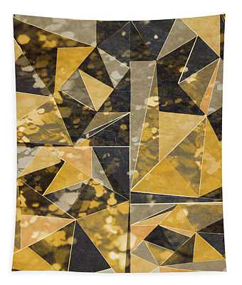 Omg Modern Triangles II Tapestry