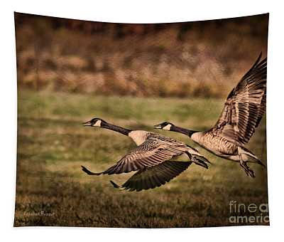 On Takeoff Tapestry
