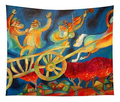 On The Road To Rebbe Tapestry