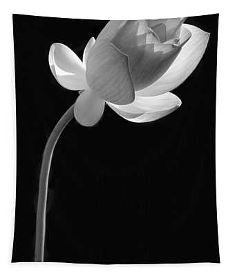 One Lotus Bud Tapestry