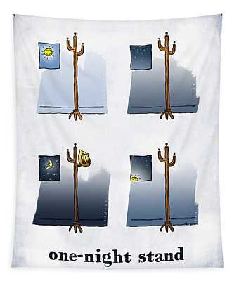 One Night Stand Tapestry