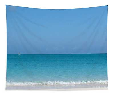 Tapestry featuring the photograph Grace Bay by Patti Whitten