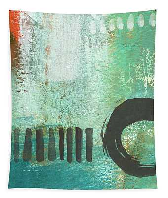 Open Gate- Contemporary Abstract Painting Tapestry