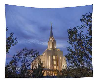 Oquirrh Mountain Temple II Tapestry
