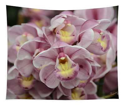 Orchid Bouquet Tapestry