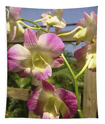 Orchid Splendor Tapestry