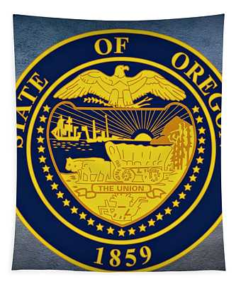 Oregon State Seal Tapestry