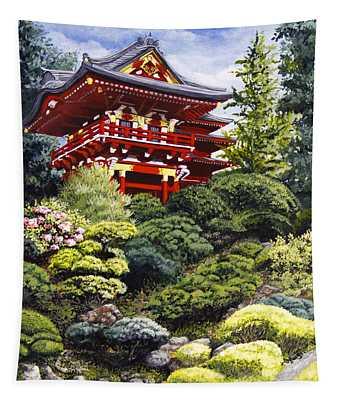 Oriental Treasure Tapestry