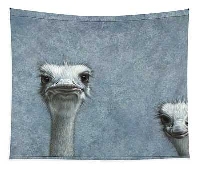 Ostrich Wall Tapestries