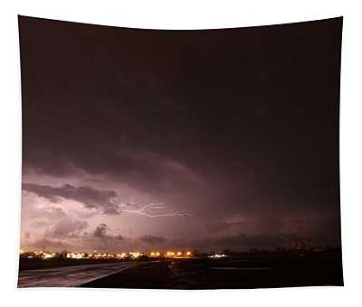 Our 1st Severe Thunderstorms In South Central Nebraska Tapestry