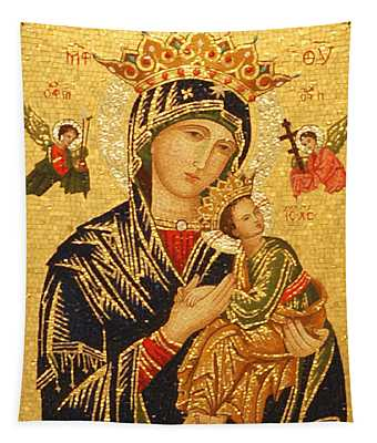 Our Lady Of Perpetual Help  Tapestry