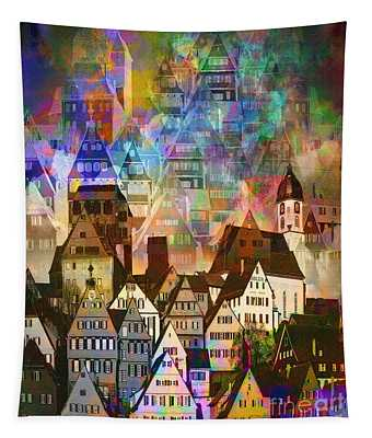 Our Old Town Tapestry