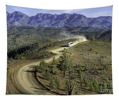 Outback Tour Tapestry