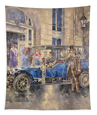 Outside The Ritz Tapestry