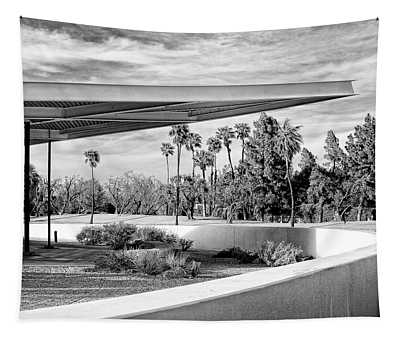Overhang Bw Palm Springs Tapestry