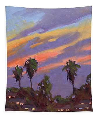 Pacific Sunset 1 Tapestry