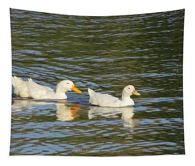 Paddling Together Tapestry