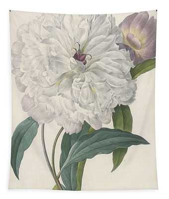 Paeonia Flagrans Peony Tapestry