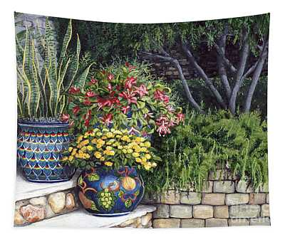 Painted Pots Tapestry