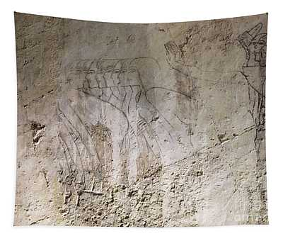 Painting West Wall Tomb Of Ramose T55 - Stock Image - Fine Art Print - Ancient Egypt Tapestry