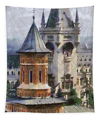 Palace Of Culture Tapestry