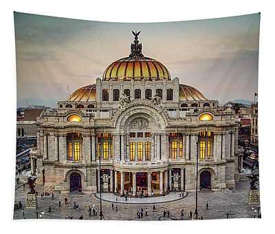Palacio De Bellas Artes Tapestry