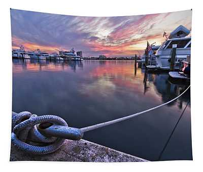 Palm Beach Harbor Tapestry