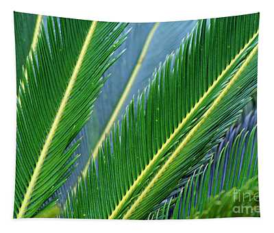 Palm Cycas Fronds Tapestry