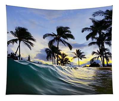 Palm Wave Tapestry