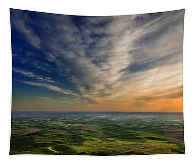 Palouse Sunset Tapestry