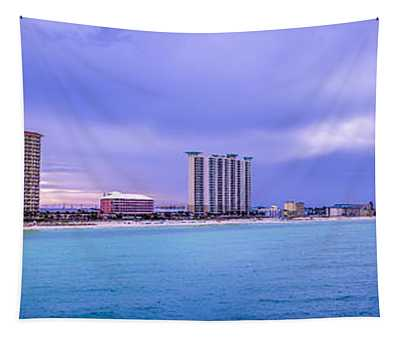 Panama City Beach Tapestry